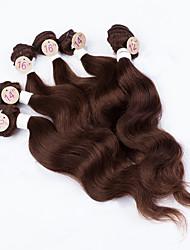 Недорогие -Тело волна человеческих волос соткает бразильскую текстуру 200 г 12-14-16 человеческих волос