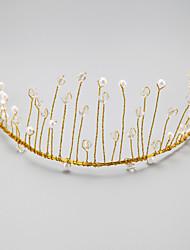 pérola imitação pérola liga headbands headpiece estilo feminino clássico