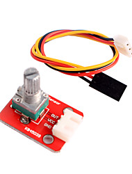 cheap -Adjustable Potentiometer Module for Arduino Intelligent Home Furnishing