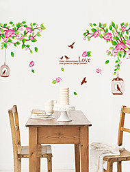 cheap -Wall Stickers Wall Decals, Style A Lotus Flower PVC Wall Stickers
