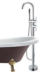billige -Badekarshaner - Moderne Krom Badekar & Bruser Keramik Ventil