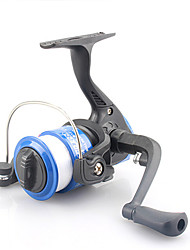 cheap -Fishing Reel Spinning Reel 5.2:1 Gear Ratio+3 Ball Bearings Hand Orientation Exchangable Bait Casting Ice Fishing Spinning Freshwater