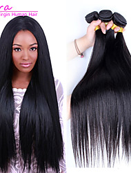 cheap -Natural Color Hair Weaves Classic Straight Hair Extensions Brazilian Human Hair Weaves 0.3kgDaily High Quality