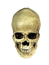halloween 2-em-1 resina emulational decoração crânio