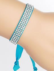 cheap -Women's Rhinestone Chain Bracelet Vintage Bracelet Wrap Bracelet Friendship Bracelet - Unique Design Fashion Others Purple Red Pink Jade