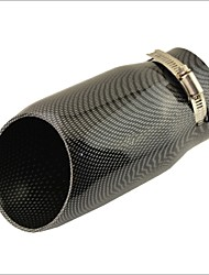 """Недорогие -Направляющий глушитель с глушителем из углеродного волокна на входе 3 """"для audi a6l"""