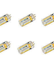 G4 LED Corn Lights T 72 SMD 3014 650 lm Warm White Cold White 2800-3200/6000-6500 K DC 12 AC 12 AC 24 DC 24 V