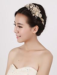 cheap -Pearl Crystal Imitation Pearl Headbands 1 Wedding Special Occasion Headpiece