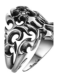 cheap -Men's Knuckle Ring Jewelry Punk Personalized Stainless Steel Alloy Geometric Eagle Jewelry For Halloween Street