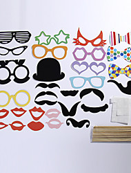 31 Sets Of Interesting Birthday Party Welcome Creative Wedding Pictures Props Lips