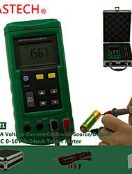 Недорогие -MASTECH ms7221- напряжения измеритель тока - источник сигнала -10В 24мА напряжение постоянного тока источника сигнала