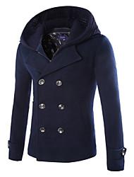 economico -MEN - Giacche e cappotti - Informale Scollo a V - Maniche lunghe Cotone / Misto cotone