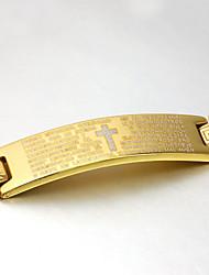 Herre Armbånd Vintage Fest Kontor Afslappet Lænke/kæde Rustfrit Stål Titanium Stål Smykker Kostume smykker