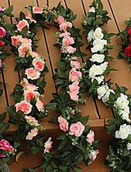 Недорогие -1 Филиал Пластик Розы Букеты на стол Искусственные Цветы