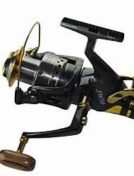 Good Quality 5.2:1  10 Ball Bearings 6000 Size Carp Fishing Reels  Spinning Fishing Reel Sea  Fishing tackle