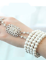 cheap -Women's Bracelet - Stylish White Bracelet For Wedding Event / Party Party / Evening Dailywear