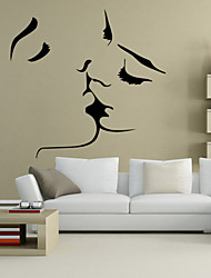 cheap -Animals People Romance Fashion Shapes Holiday Cartoon Wall Stickers People Wall Stickers Decorative Wall Stickers, PVC Home Decoration