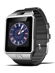 dz09 smartwatch orologio sim card slot messaggio push telefono android con fotocamera pedometro