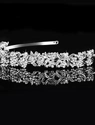 billige -rhinestone tiaras hovedbånd hovedstykke klassisk feminin stil