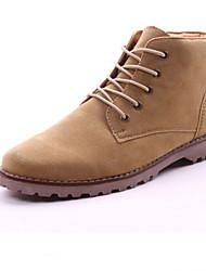 Men's Shoes Casual  Boots Black / Green / Khaki