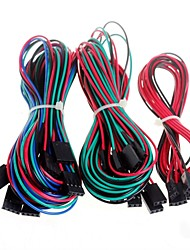 cheap -14pcs Complete Wiring Cables for 3D Printer Reprap RAMPS 1.4 Endstops Thermistors Motor