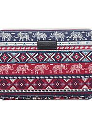 универсальный слоненок ромб шаблон холщовый мешок компьютер защитный рукав кейс