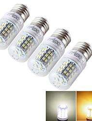 E14 E26/E27 Lâmpadas Espiga T 48 leds SMD 2835 Decorativa Branco Quente Branco Frio 600lm 3000/6000K AC 85-265 30/9V