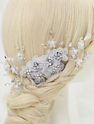 imitação de pérolas de strass liga de liga headpiece estilo elegante