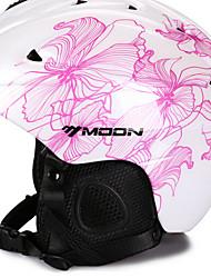 MOON Moto Capacete CE Certificado Ciclismo 14 Aberturas Ajustável Montanha Jovem Unisexo EPS + EPU Ciclismo de Montanha Ciclismo
