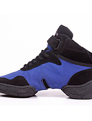 Femme Homme Enfants Baskets de Danse Cuir Tissu Baskets Noir Rouge Bleu 2,5 à 4,4cm Non Personnalisables