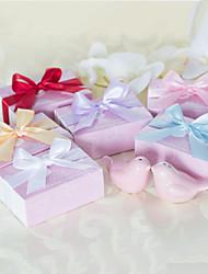 Ceramica Bomboniere Pratiche-1 Utensili da cucina Giardino / Asiatico / Floreale / Farfalle / Classico / Favola Rosa 8 x 5 x 3 cm Nastri