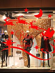 Window Stickers Window Decals Style Christmas Window Glass Decoration PVC Window stickers