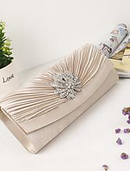 preiswerte -Damen Taschen Polyester Abendtasche Crystal / Strass für Hochzeit Veranstaltung / Fest Formal Ganzjährig Hautfarben