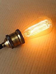 abordables -e27 ST58 25w pointe de fil rectiligne Edison tungstène barre de l'art décoratif