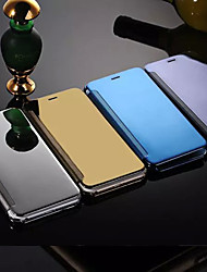 For iPhone 8 Plus iPhone 6 iPhone 6 Plus Case Cover Mirror Flip Full Body Case Solid Color Hard Metal for iPhone 8 Plus iPhone 6s Plus