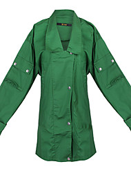Women's Solid Color Green Coats & Jackets , Casual Pan Collar Long Sleeve