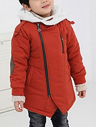cheap -Boys' Jacket & Coat Winter Long Sleeve Navy Blue Red