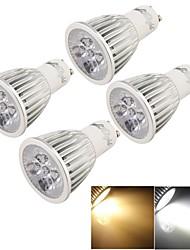 cheap -YouOKLight 500lm GU10 LED Spotlight MR16 5 LED Beads High Power LED Decorative Warm White / Cold White 85-265V