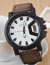 cheap -Men's Sport Watch / Wrist Watch Sport Watch Silicone Band Charm Blue / Red / Brown