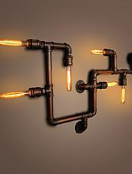 economico -Rustico / campestre Lampade da parete Metallo Luce a muro 110-120V / 220-240V Max 60W