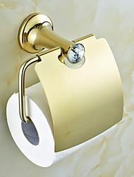 economico -Porta rotolo di carta igienica Moderno Ottone 1 pezzo - Bagno dell'hotel
