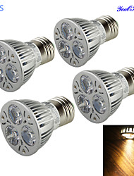 3W E26/E27 LED Spotlight A50 3 High Power LED 200-250 lm Warm White 3000 K Decorative AC 85-265 V