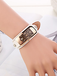 Watch Women Genuine Leather Band Casual Simple Quartz Analog Wrist Watch (Assorted Colors) Cool Watches Unique Watches Fashion Watch
