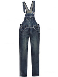 Damen Hose - Bodycon / Leger Denim / Polyester