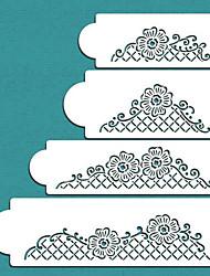 baratos -1pç Inovador Bolo Plástico Faça Você Mesmo Moldes de bolos