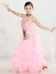 Ballroom Dance Outfits Women's  6 Pieces 2 Colors
