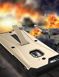 preiswerte -Für iPhone 8 iPhone 8 Plus iPhone 6 iPhone 6 Plus Hüllen Cover Stoßresistent Staubdicht Wasserdicht mit Halterung Rückseitenabdeckung