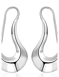cheap -lureme® Fashion Style 925  Sterling Silver Geometry Shaped Earrings