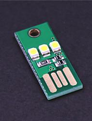 economico -Lampada di campeggio luce bianca 0.2W 20lm mini wy003 USB 3-led