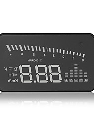 x5 hud universale Head Up Display km / h mph rivelatore auto avvertimento progetto parabrezza carburante accelerando interfaccia obdii